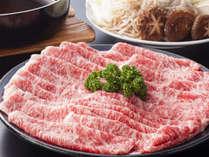 この秋オススメ♪【松茸と奈良県ブランド牛(大和牛)のすき焼き 食べ放題プラン】1泊2食付