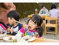 【ファミリー夏休みスペシャルプラン!】河原でバーベキュー+特典付き(お子様半額、花火プレゼント)☆