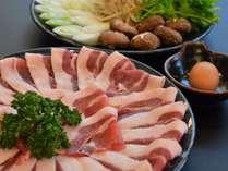 【じゃらん限定】当館1番人気★しし肉すき焼きプラン♪特典にウェルカムドリンク+お土産用しし肉割引券付