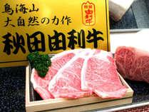 【由利牛イメージ】ブランド牛としても名高い牛肉です