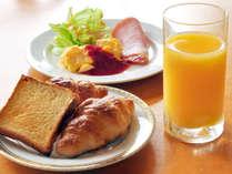 【朝食】和洋食メニューをご用意しております。(イメージ)