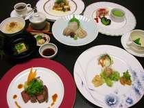 夕食・和・洋折衷創作料理(一例)