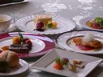 家庭的でありながら本格的なフランス料理が味わえる