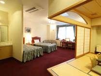 【特別室】天窓付き!ゆったりと寛げる48平米の和洋室