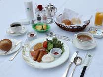 【洋朝食】さわやかな朝の目覚めには美味しいお食事を。一日のスタートを鮮やかなお食事で♪