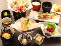 【お気楽一人旅】10品程のお料理+朝食付きプラン