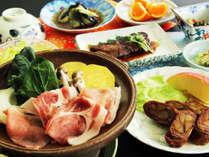 ボリューム満点!手作りのお料理は大満足の逸品※食材は変更になる場合がございます