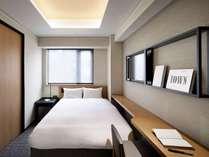 ◆ダブル◆15平米【ベッド幅140cm×1】 シャワーブース、トイレ別