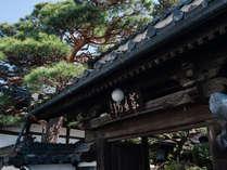 約280年前に建てられた伝統ある薬王院の門。