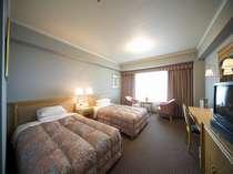 スタンダードツインルーム☆広々33平米☆(ベッド2台のお部屋です)