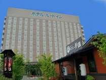 ルートイン水戸県庁前は10階建ての建物です。