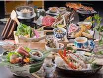 料理長厳選の食材を使用した会席料理♪特別なひと時をお過ごしください※写真はイメージです