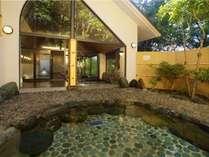 大浴場1階の岩露天風呂