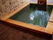 人気のため新設されたプライベート露天風呂【ヴィラ西館 洋室・和室】