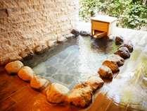 人気の客室露天風呂♪