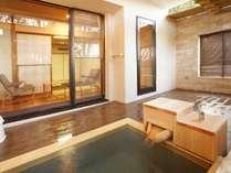 客室露天風呂(和室)