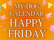 【じゃらんnet限定】Happy Friday Present ~ My Dog Calendar ~