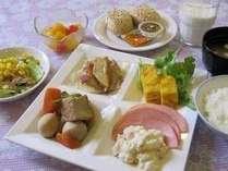 【朝食一例】レストランスタッフ手作りの味!ぜひご賞味ください♪