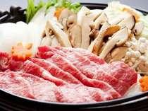 季節限定◆松茸すき焼き◆満足プラン