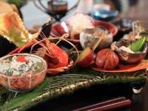【夕食】日本独自の四季を愉しむという文化。当館でも日本文化を尊重したお料理を提供しております/例