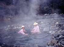 河原の露天風呂