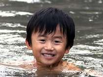仙人風呂(12月から2月末まで)雨による増水時ご利用できない場合ございます。
