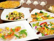 リストランテ フォルネッロ パーティー料理イメージ