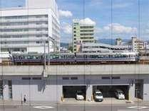 ★駅近★お部屋から電車もご覧いただけます。お子様や鉄道ファンに人気です♪