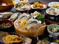 大粒の牡蠣がフルコースでいただける「的矢牡蠣づくし」