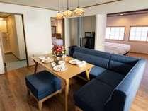 6人部屋 リビングルーム