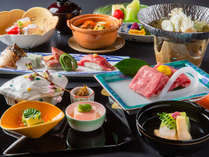 *近江牛会席~季節の会席料理に日本三大和牛の一つ「近江牛」を贅沢に取り入れた大人気のコース~