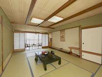 【和室一例】6名様までご宿泊いただける和室タイプのお部屋です。