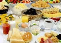 驛亭さつまの朝食ブッフェイメージ。和食を中心とした内容です。薩摩郷土料理もご用意しております。