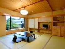 【別館スタンダード和室】リラックススペースが充実しているモダンな和室