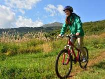 *サイクリング/自ら風を切ってニセコの大自然を駆け抜けよう!