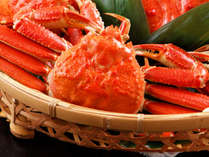 【ファミリーバイキング夕食】蒸しズワイ蟹 ※蟹足の提供となります。写真はイメージです。