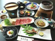 【選べる特典付き♪】『利き梅酒』または『めはり寿司』無料!★老舗旅館の美食懐石+【選べる熊野牛料理】