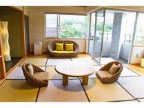 緑を浴びながらマーペが眺望できる和室部屋の【朝食なし】プラン