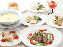 *夕食*創作イタリアンのコースは隠れた人気♪(一例)