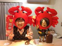 11月~2月 蟹キャンペーン実施してます