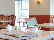 ホテル1F カフェ「メルローズ」★