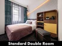 スタンダードダブルルーム/ドリームベッド社のダブルサイズベッドを導入。