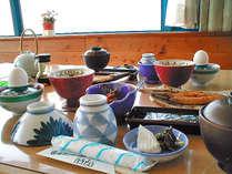 朝は絶景レストランにて和朝食♪しっかり食べて、元気にいってらっしゃいませ☆彡