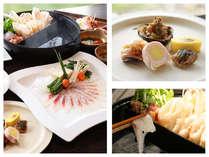 一挙両食、二味鍋:きりたんぽ鍋&鯛のしゃぶしゃぶ鍋、秋田の恵みを一つの鍋で・・・