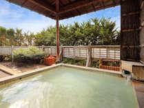 ☆pH2.5の酸性泉を掛け流しの露天風呂