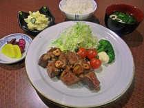 【二食付】ボリューム&栄養満点♪手作り定食をどうぞ