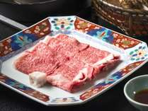 夕食グレードアッププラン <露天風呂付き客室+部屋食+米沢牛しゃぶしゃぶ会席>