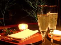 聖なる夜は草庵で…フレンチディナーを堪能★クリスマスプラン★<ライトコースC>