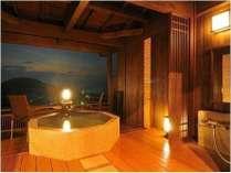 離れ特別室「夢の杜」客室露天風呂