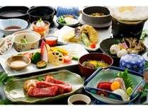 <迷ったらこれ♪>「味彩牛の鉄板焼き」「季節の鍋」「有明旬魚のお造り3種」